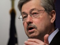 Branstad said 'maybe' before he said 'no'