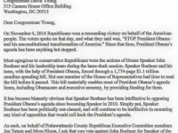 Pottawattamie County instructs Young to vote against Boehner for Speaker