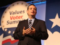 U.S. Sen. Ted Cruz spoke at least year's Value Voters Summit. The Texas Republican has made many inroads with the liberty wing of the Iowa GOP of late. (Prezography photo/used with permission)