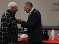 Grassley presents vet with POW Medal