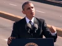 Obama commemorates Selma marches