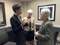 Reynolds meets with EPA administrator