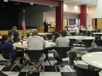 Hill discusses tax plan with Muscatine County Republicans