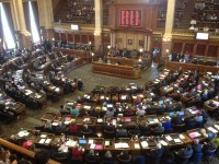 House adopts amended county compensation bill