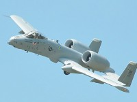 """The U.S. Air Force's A-10 """"Warthog"""" is the only fixed wing close air support platform the U.S. military has at its disposal. U.S. Sen. Joni Ernst (R-IA) is fighting efforts to retire the aircraft in the upcoming defense budget. (The Iowa Statesman photo/Bob Eschliman)"""