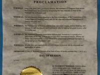 Updated: Branstad signs Day of Reason proclamation after request