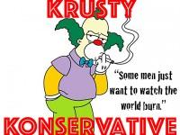 Krusty Konservative: Responding to the Irrelevant