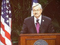 Branstad issues disaster declaration for four counties