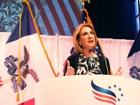 Fiorina announces endorsement