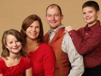 State Sen. Mark Chelgren (R-Ottumwa) and his family.
