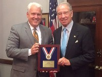 Grassley receives 'Conservative Excellence' award from ACU