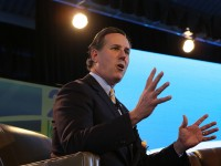 Santorum to address tax policy Monday