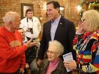 Updated: Santorum back in Iowa this week