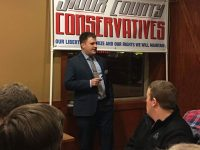 Thompson Conducts First State Treasurer Event in Sioux Center