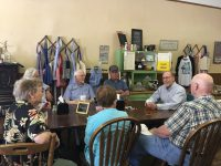 Dave Loebsack has coffee with constituents in Leon